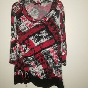 Style and Co. Cowl Neck Tunic
